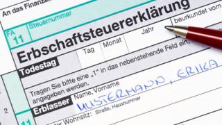 Erbschaftsteuer / German death tax